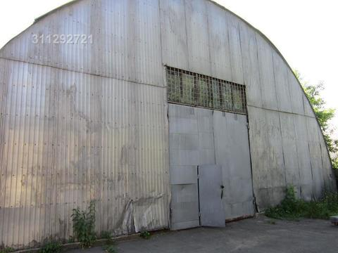 Под склад, ангар, раб. сост, утепленный, неотапл, выс. 7 м, пол асфа