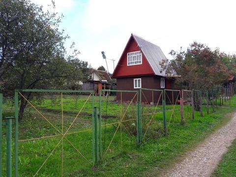 Продам участок с садовым домиком рядом с рекой Окой.