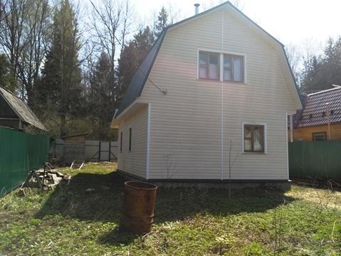 Дом из бруса на 6 сотках вблизи д. Макеиха, Рузский район