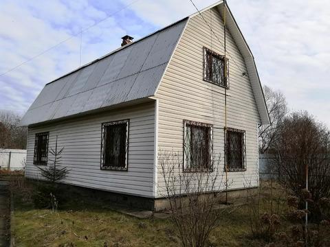 2-х эт. кирпичный дом, 96 кв. м на уч. 6 сот. СНТ Бронницкое, с/п Кузн