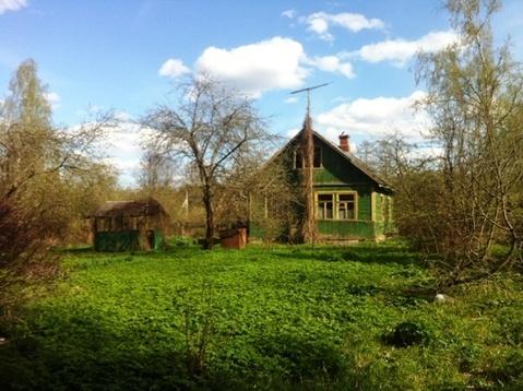 Дачный участок 13 соток с домиком 60 м.кв. в п. Бабаево, Рузский район