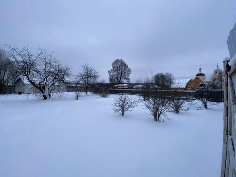 Участок 16.5 соток с панорамным видом на храм, д. Крюково, г. Чехов