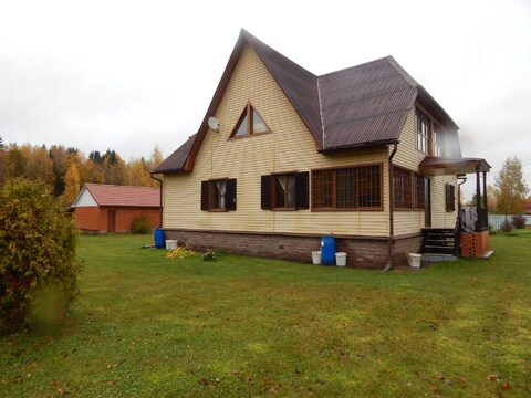 Цена снижена!Дом 246 кв м на участке 24 сотки вблизи д. Петрищево