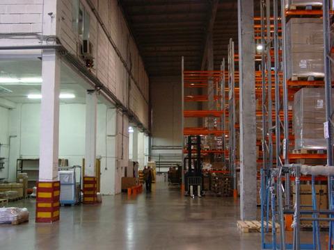 Складской комплекс А класса 700 кв.м, стеллажи