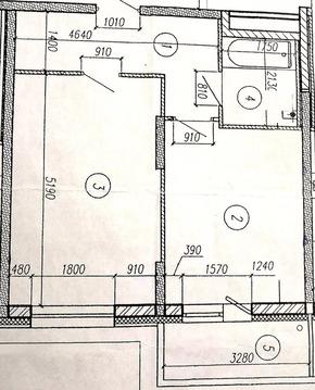 """1-комнатная квартира, 41 кв.м., в ЖК """"Изумрудные Холмы"""""""