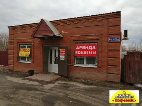 Аренда магазин офис торговое помещение Егорьевск Рязанская 61