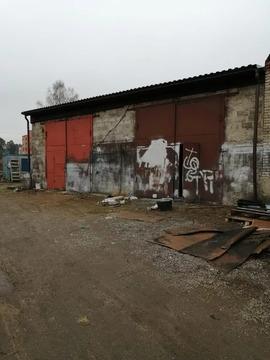 Сдаются два блочных бокса площадью 80 кв.метров на участке 2,5 сотки