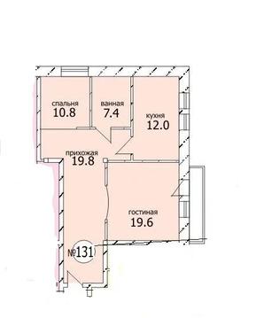 Продается квартира г Москва, ул Нагорная, д 7 к 1
