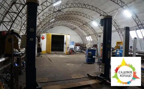 Площадь ангара 300 м2, отопление, водопровод, оборудован сигнализацией