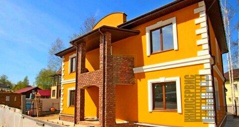 Двухэтажный коттедж 360м в ДНП Военнослужащий, Беляниново