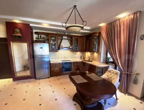 3-комнатная квартира с дизайнерским ремонтом