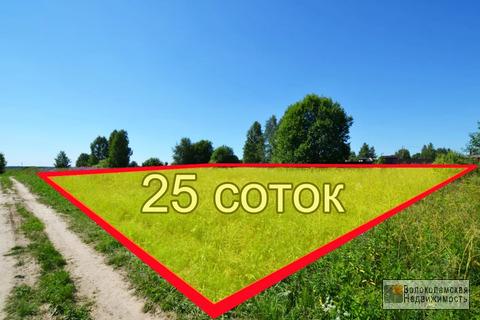 Участок 25 соток в д.Горбуново 120 км от МКАД