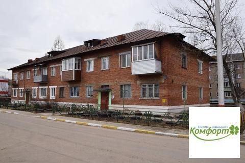 Продается 2 к. квартира в п.Гжельского кирпичного завода д.6