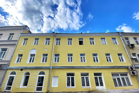 Здание в центре Москвы