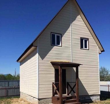 Купить дом из бруса в Наро-Фоминском районе д. Пожитково