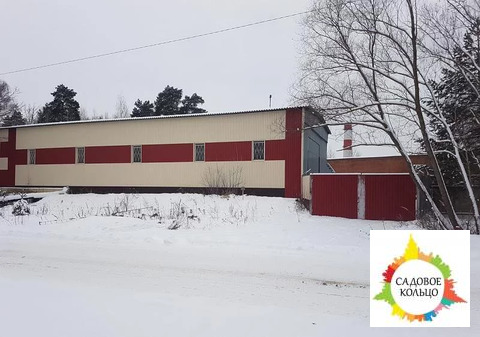 Продается здание площадью 462,2 м 3 На участке земли 28,35 соток в соб