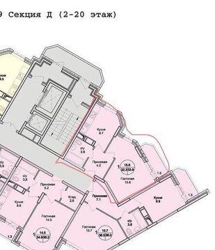 Раменское, 1-но комнатная квартира, Северное ш. д.20, 2350000 руб.