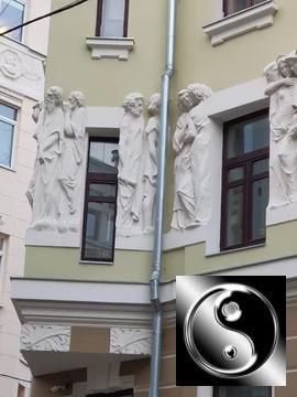Комната в 3-к. кв. Район Хамовники, Плотников переулок, 4/5, Смоленска