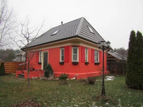 40 км от МКАД новый дом в СНТ Желктый луг (Протасово, Щелковский р-н)