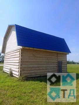 Дом из бревна 90 кв.м. в городе Можайск, 12 соток.