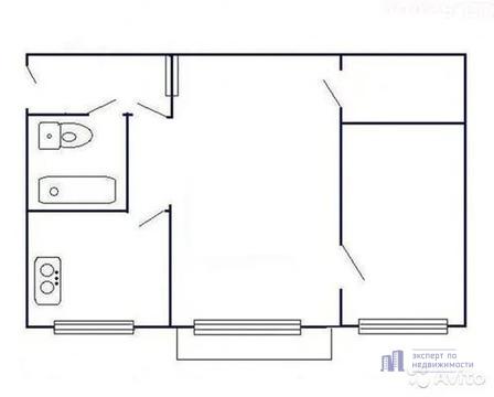 Продам двухкомнатную (2-комн.) квартиру, Хибинский проезд, 28, Моск.