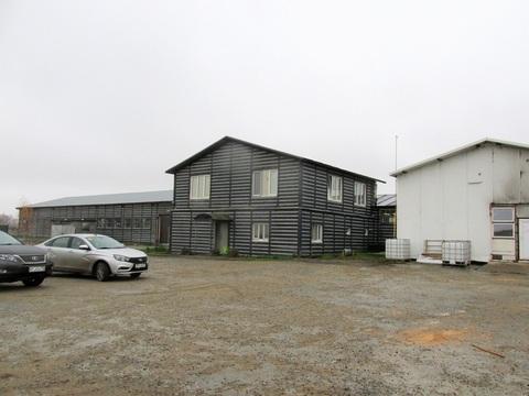 Продается производственно-складская база 2023 м2 на участке 1,5 га