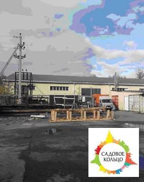 Собственник продает производственно-складскую базу в г. Чехове (1 км о