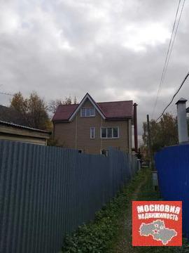 В черте г.Пушкино продается 3-х этажный кирпичный дом с коммуникациями
