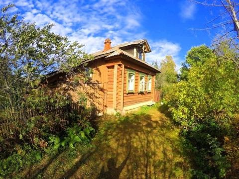 Продается дом с баней на уч-ке 20 соток: МО, Клинский р-н, д. Крупенино
