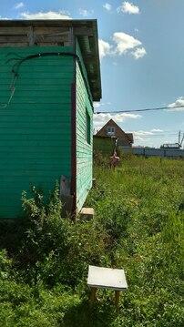 Дом 18,9 м2 на участке 8 соток в д. Дубининское