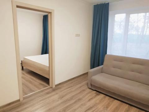 Трехкомнатная квартира со свежим ремонтом у метро Царицыно