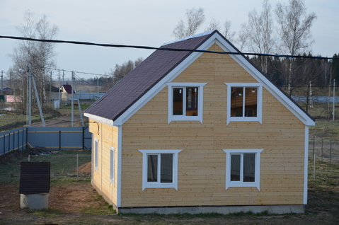 Дом 2016 г. вблизи г. Можайск, 90 км от МКАД, Минское, Можайское шоссе