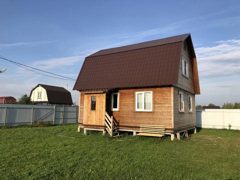 Дом из бруса, 90 кв.м, СНТ Ромашкино-2, д. Горелово, г. Чехов