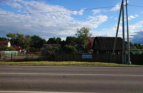 Продам участок с газом в с. Кременье, городской округ Ступино.