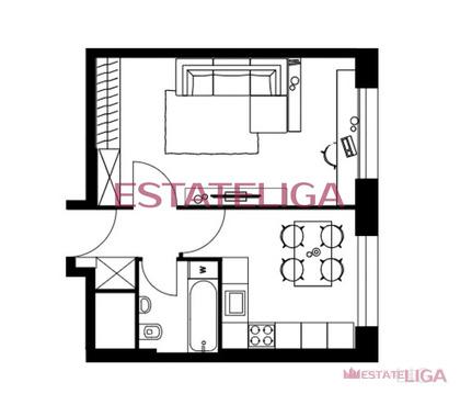 """1-комнатная квартира, 37 кв.м., в ЖК """"LEVEL Амурская"""""""