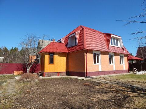 Новый дом 161 кв вблизи п. Тучково рядом с лесом