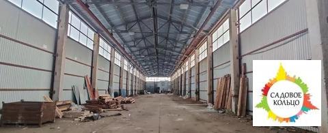 Объект представляет собой производственный комплекс из 3-х зданий по 1