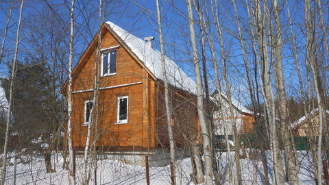 Продаётся дача с пропиской с земельным участком в Московской области