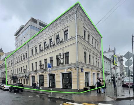Продажа здания на Сретенке 16