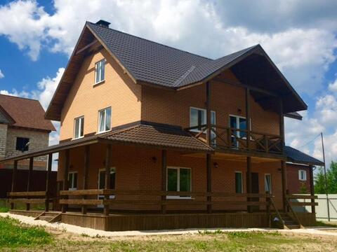 Чудесный дом 260 кв.м д. Углешня Чеховский р-н, 40 км от МКАД