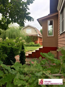 Два дома, баня, гараж, 15 соток, д.Хрипань, 29км от МКАД, лес