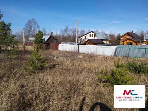 Продается участок в СНТ Некрасово , в черте города Электрогорск.