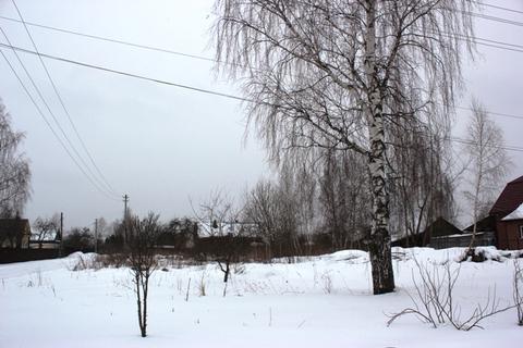 Участок 10 соток в деревне Захарово