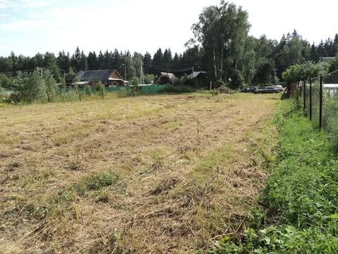 Срочно продается зем. участок 22 сот. в д. Строганка Рузский р.