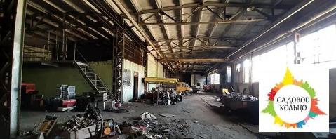 7 Нежилых производственных здания общей площадью 5700 кв.м. Потолки 8