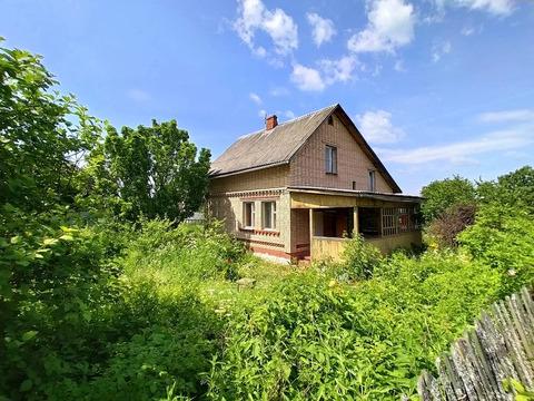 Кирпичный дом в СНТ Хлыбы