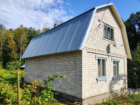 Жилой 2-эт. кирпичный дом на 10 сотках в СНТ Лучинское смп-869