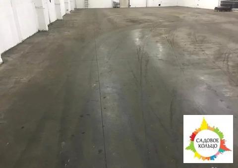 Теплый склад, наливные бетонные полы противопылевые, пандус на 5 фур п