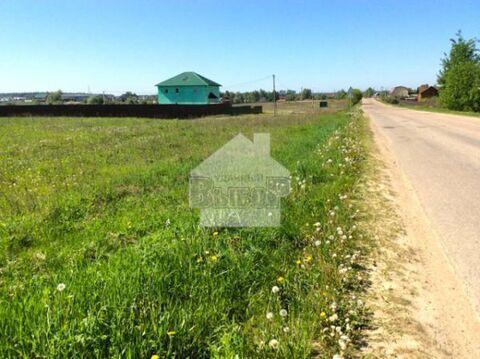 Участок с удобным подъездом в современном поселке, 40 км от МКАД.