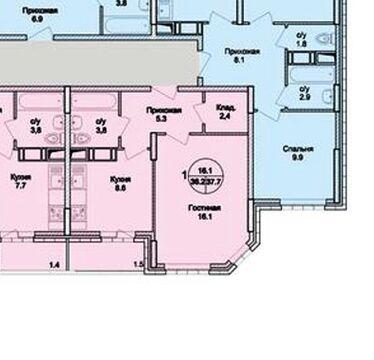 Раменское, 1-но комнатная квартира, Северное ш. д.20, 2800000 руб.